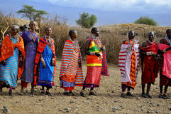 People from Masai tribe Stock Photos