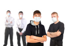 People in the mask Royalty Free Stock Photos