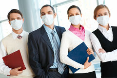 People in masks Royalty Free Stock Photography