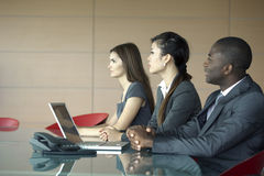 People in a meeting Stock Photography