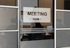 People in a Meeting Room Royalty Free Stock Photo