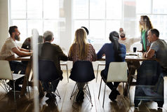 People Meeting Seminar Office Concept Royalty Free Stock Photo