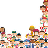 People meeting to act. Longed-for occupation of children Royalty Free Stock Image