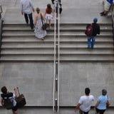 People metro station Stock Image