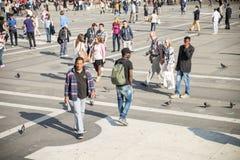 People in Milan Royalty Free Stock Photos