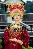 People of Minangkabau Stock Image