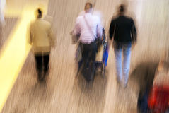 People in movement Royalty Free Stock Images
