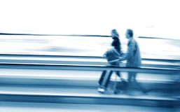 People in movement Royalty Free Stock Photo