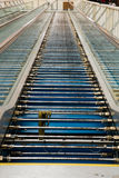People Mover Escalator Repair Stock Photo