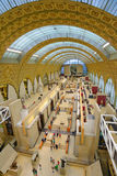People in Musee d'Orsay, Paris Stock Image