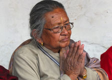 People of Nepal Royalty Free Stock Photo