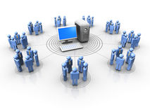 People network Stock Images