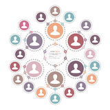 People Network Concept  Royalty Free Stock Images