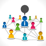 People network Royalty Free Stock Photo