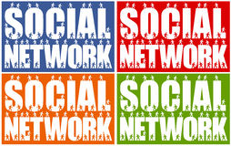 People network Royalty Free Stock Images
