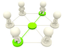 People networking Stock Images