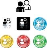 People networking icon symbol Stock Photo