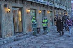 People on the Nevsky Prospect Royalty Free Stock Image