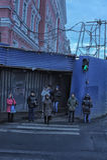 People on the Nevsky Prospect Royalty Free Stock Images