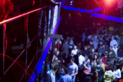 People in night club. Dancing and having fun with friends Stock Photo