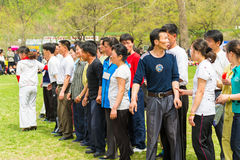 People in NORTH KOREA Royalty Free Stock Photography