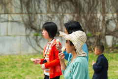 People in NORTH KOREA Stock Photography