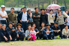 People in NORTH KOREA Royalty Free Stock Photos