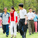 People in NORTH KOREA Royalty Free Stock Images