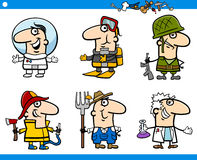People occupations characters set Stock Images