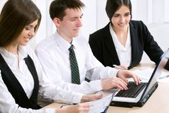 People at the office Royalty Free Stock Images
