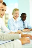 People in office Royalty Free Stock Photos