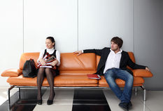 People  in the office Royalty Free Stock Photo