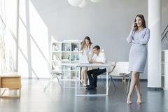 People in the office Royalty Free Stock Photos
