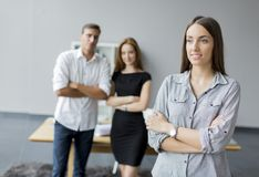 People in the office Royalty Free Stock Image
