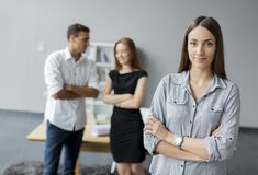 People in the office Stock Image