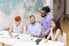 People in  office Royalty Free Stock Photography