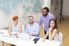 People in  office Stock Image