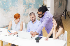 People in  office Royalty Free Stock Images