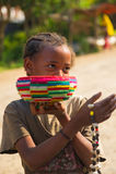People in OMO, ETHIOPIA Royalty Free Stock Photos