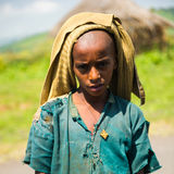 People in OMO, ETHIOPIA Royalty Free Stock Photography
