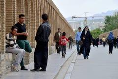 Free People On Siosepol Bridge In Isfahan, Iran Royalty Free Stock Photo - 53793385