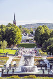 People in oslo park Royalty Free Stock Photo