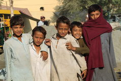People in Pakistan Stock Image