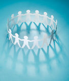 People paper chain Stock Photos