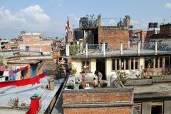 People in Patan Royalty Free Stock Images