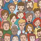 People pattern Stock Photo