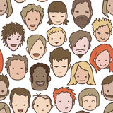 People pattern Stock Photography