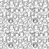 People pattern Stock Photos
