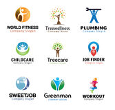 People Person Symbol Design Royalty Free Stock Photography