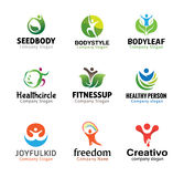 People Person Symbol Design Stock Image
